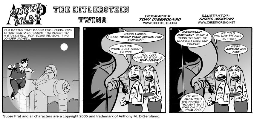 The Hitlerstein Twins