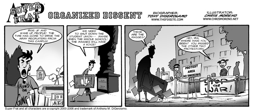 Organized Dissent
