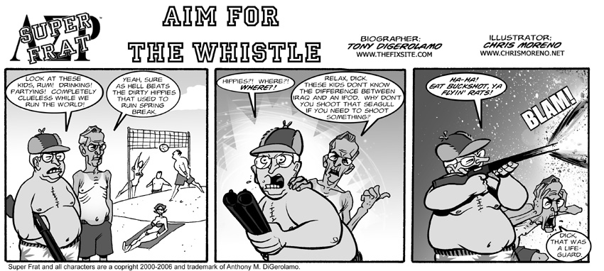 Aim For The Whistle
