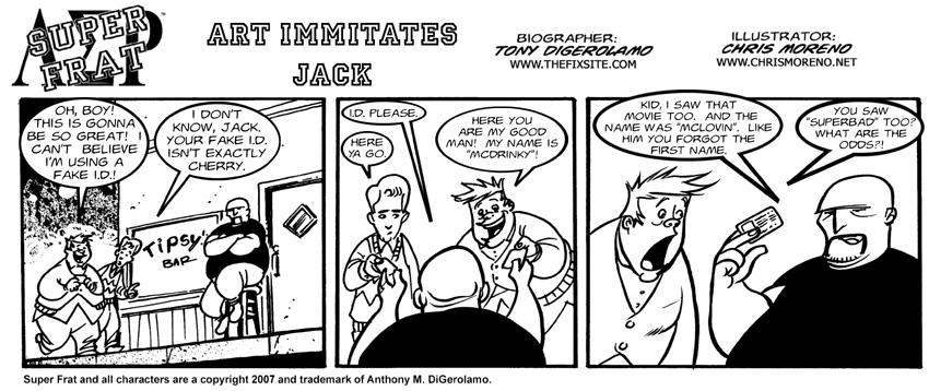 Art Imitates Jack