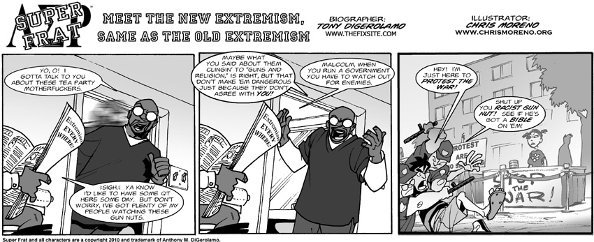 Meet the New Extremism, Same as the Old Extremism