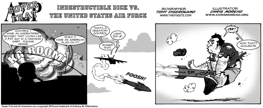 Indestructible Dick vs. The United States Air Force
