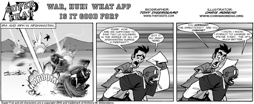 War, Huh!  What App Is It Good For?