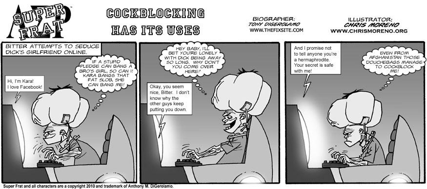 Cockblocking Has Its Uses
