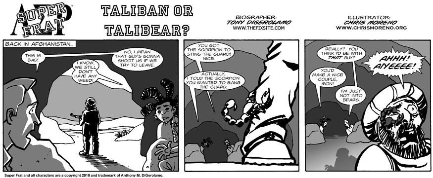 Taliban or Talibear?