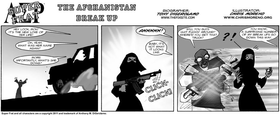The Afghanistan Break Up