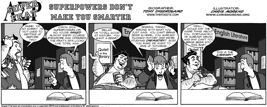 Superpowers Don't Make You Smarter