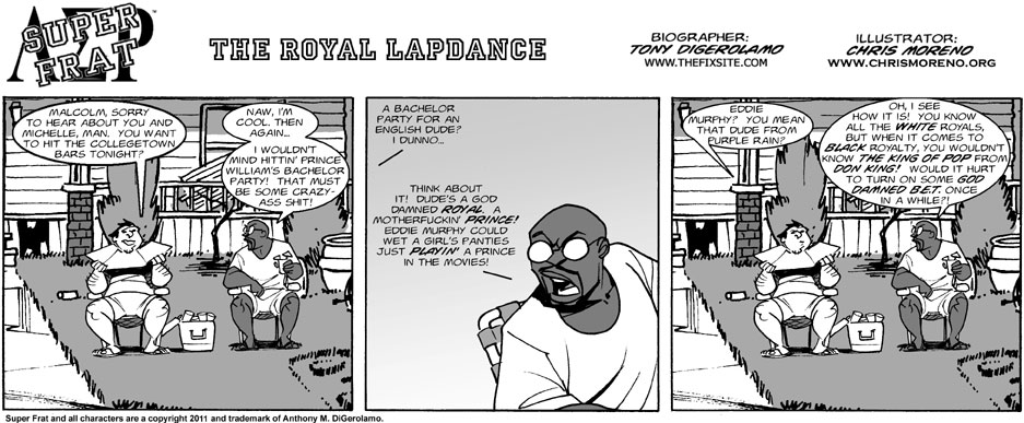 The Royal Lapdance