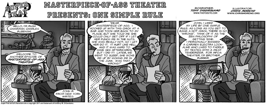 Masterpiece-of-Ass Theater: One Simple Rule
