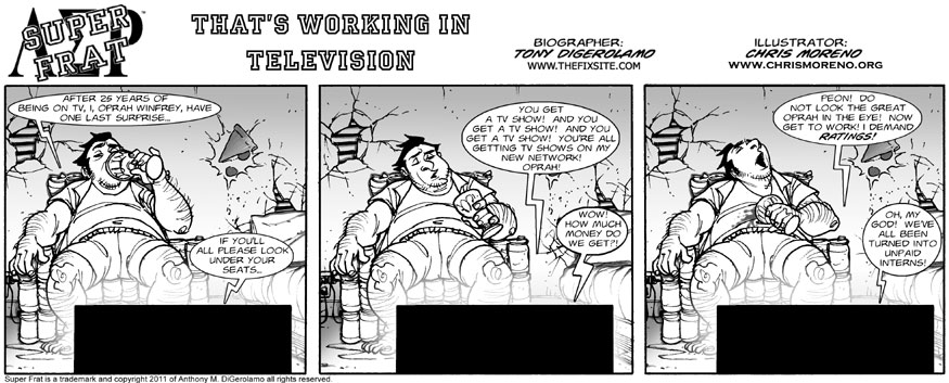 That's Working In Television