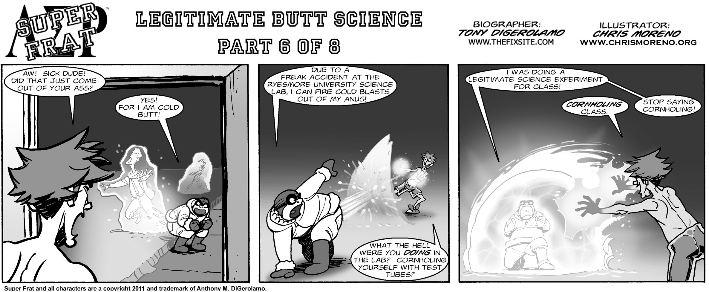 Legitimate Butt Science