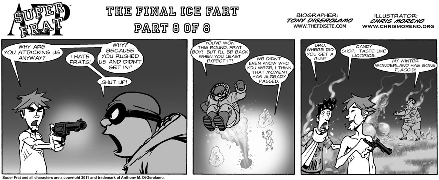 The Final Ice Fart