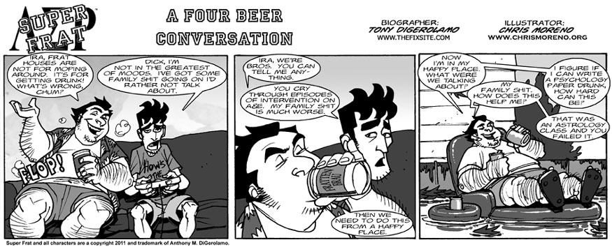 A Four Beer Conversation