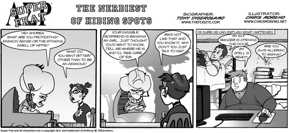 The Nerdiest of Hiding Spots