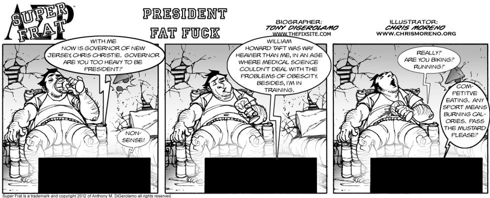President Fat Fuck