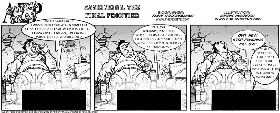 Asskicking, the Final Frontier