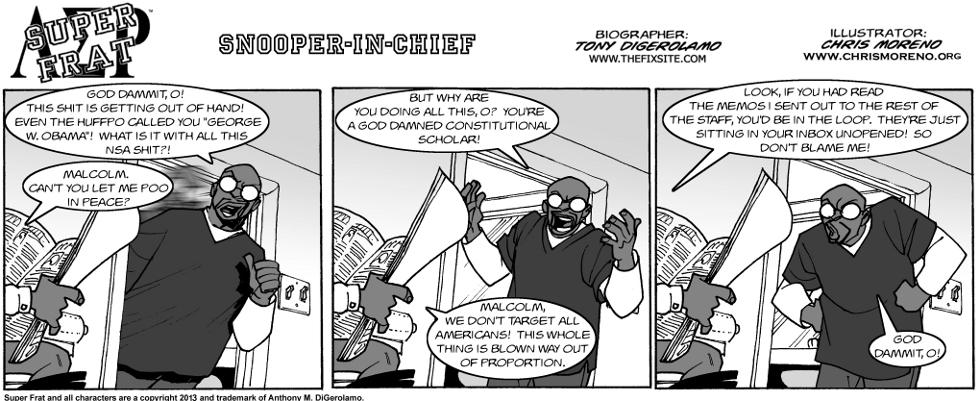 Snooper-In-Chief