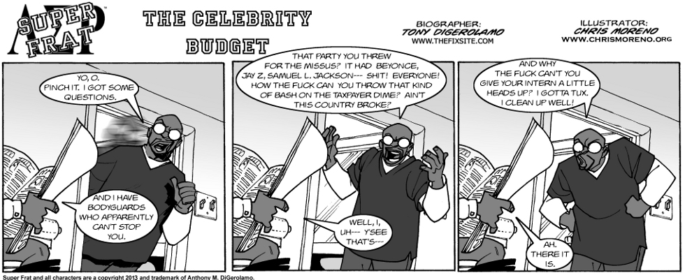 The Celebrity Budget