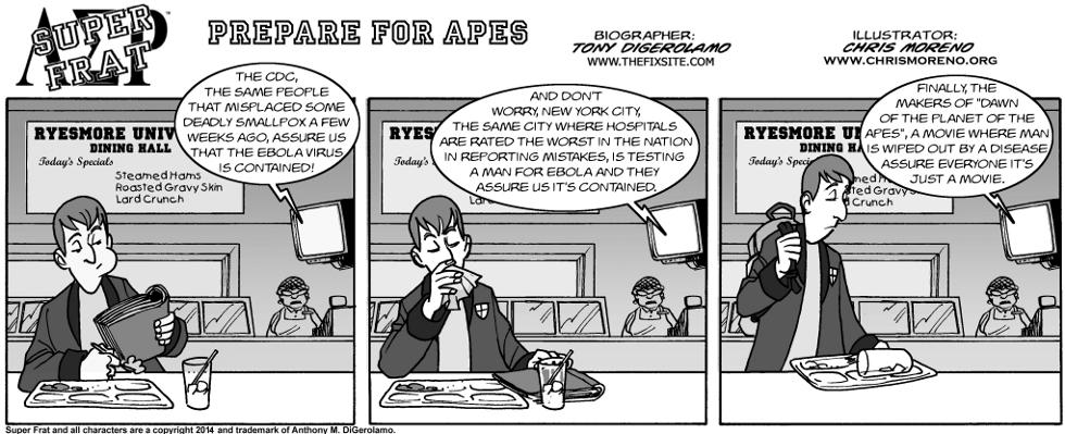 Prepare for Apes