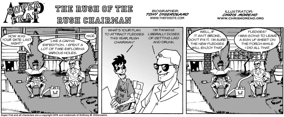 The Rush of The Rush Chairman