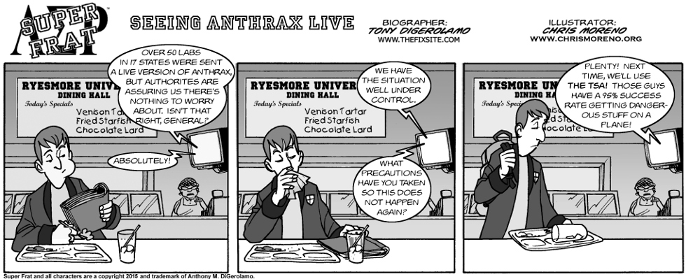 Seeing Anthrax Live