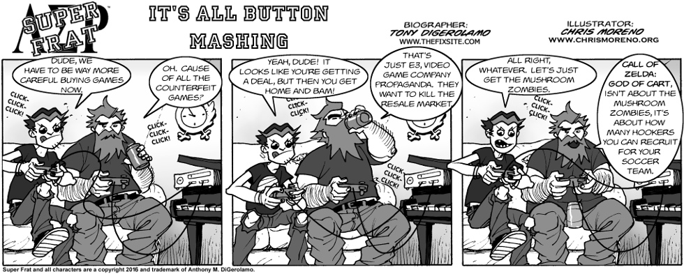 It's All Button Mashing