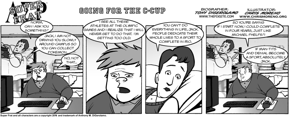 Going for the C-Cup