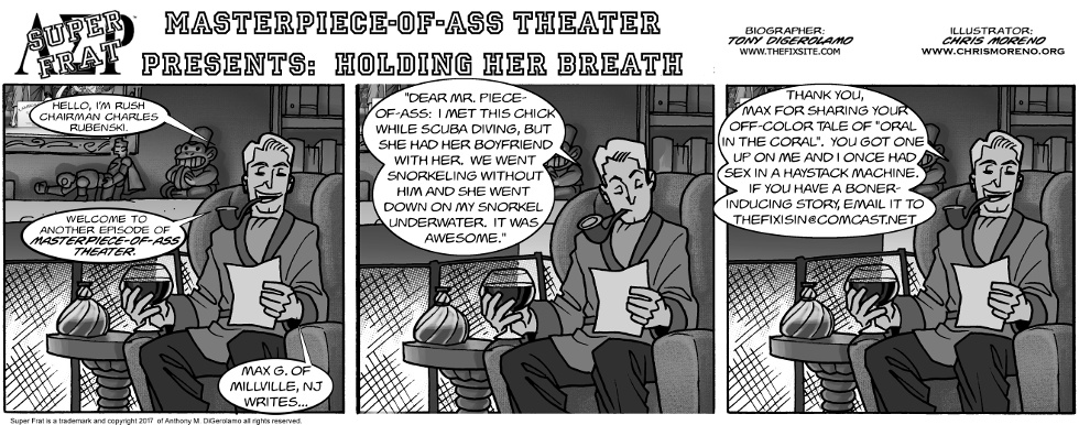 Masterpiece-of-Ass Theater Presents:  Holding Her Breath