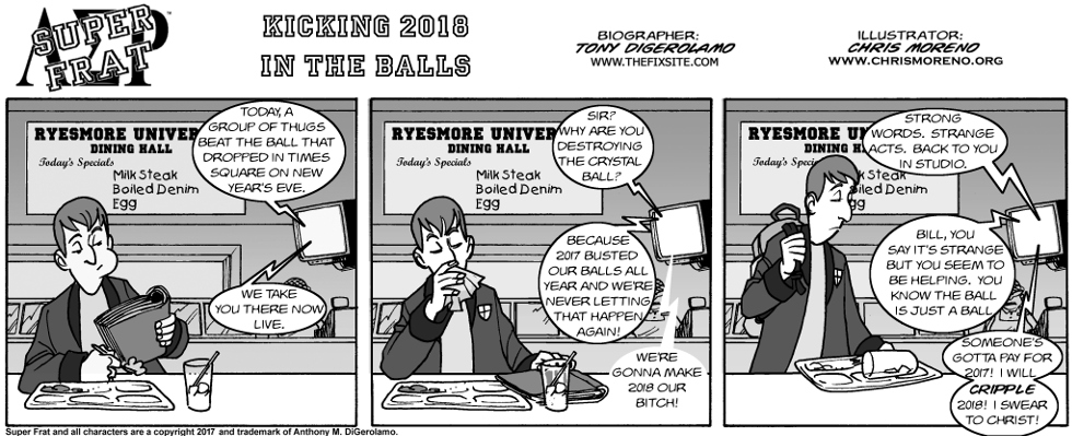 Kicking 2018 in the Balls