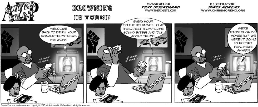 Drowning in Trump