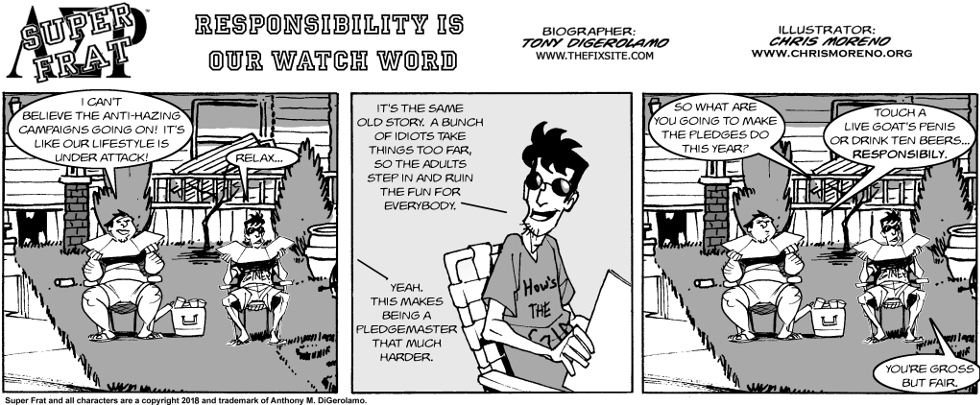 Responsibility is Our Watch Word
