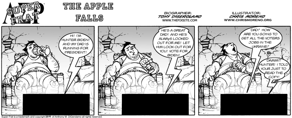 The Apple Falls