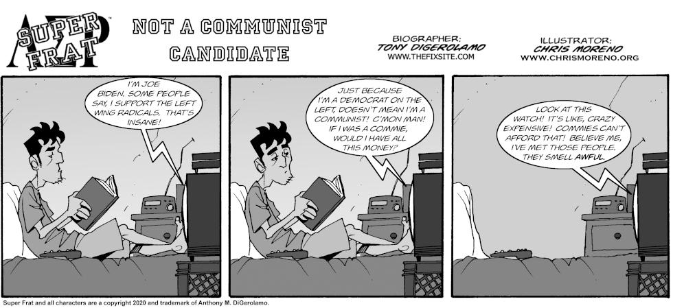 Not A Communist Candidate