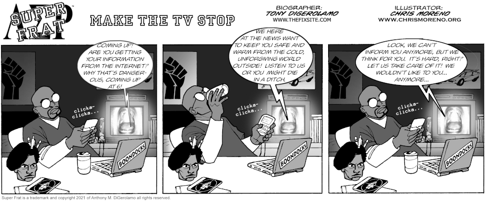 Make the TV Stop