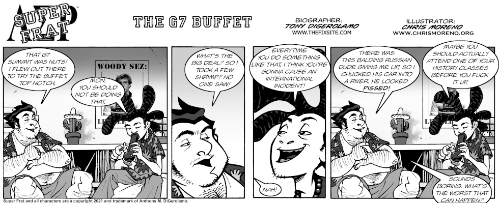 The G7 Buffet